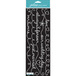 Wedding Words White Borders - Jolee's Boutique Stickers