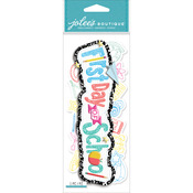 Jolee's Boutique Title Wave Dimensional Stickers - First Day Of School