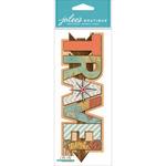 Travel - Jolee's Boutique Title Wave Dimensional Stickers