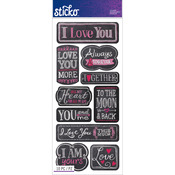 I Love You - Sticko Stickers