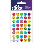 Mini Smile Faces - Sticko Stickers
