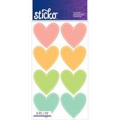 Color Hearts - Sticko Label Stickers