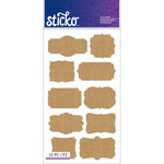 Burlap Frames - Sticko Label Stickers