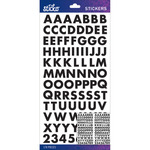 Black Futura Bold Small - Sticko Alphabet Stickers