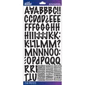 Black Marker Medium - Sticko Alphabet Stickers