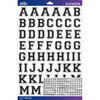 Black Varsity Large - Sticko Alphabet Stickers