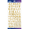 Gold Foil Calent Small - Sticko Alphabet Stickers