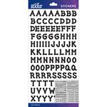 Black Dot Small - Sticko Alphabet Stickers