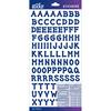 Blue Dot Small - Sticko Alphabet Stickers