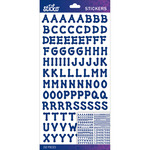 Blue Dot Small - Sticko Alphabet Stickers