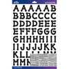 Black Dot Large - Sticko Alphabet Stickers