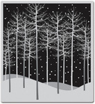 Winter Trees - Hero Arts Cling Stamps