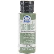Hauser Green Medium - FolkArt Enamel Paint 2oz