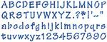 "Whimsical Dot Alphabet 8.25""X13"" - Stencil Magic Decorative Stencils"