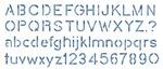 "Block Alphabet 5.25""X13"" - Stencil Magic Decorative Stencils"