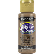 Sable Brown - Opaque - Americana Acrylic Paint 2oz