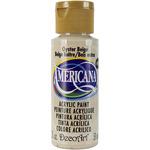 Oyster Beige - Opaque - Americana Acrylic Paint 2oz