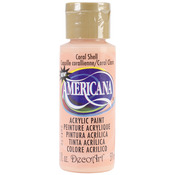 Coral Shell - Opaque - Americana Acrylic Paint 2oz