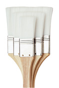 White Nylon - All-Purpose Brush Set 3/Pkg