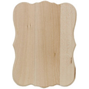 "Classic 5""X7""X.31"" - Basswood Thin Plaque"