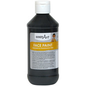 Black - Handy Art Face Paint 8oz