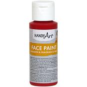 Red - Handy Art Face Paint 2oz
