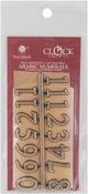 "Gold - Arabic Clock Numerals .625"""