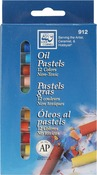 Assorted Colors - Oil Pastels 12/Pkg