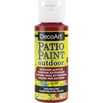 Holly Berry Red - Patio Paint 2oz