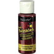 Christmas Red - Craft Twinkles Glitter Paint 2oz