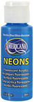 Elect Blue - Americana Neons Fluorescent Acrylic Paint 2oz