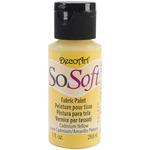 Cadmium Yellow - SoSoft Fabric Acrylic Paint 1oz