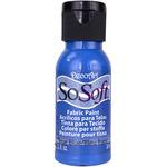 True Blue - SoSoft Fabric Acrylic Paint 1oz