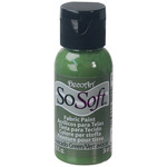 Avocado Green - SoSoft Fabric Acrylic Paint 1oz