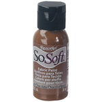 Dark Chocolate - SoSoft Fabric Acrylic Paint 1oz