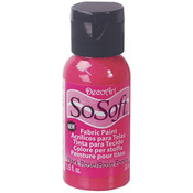 Dark Rose - SoSoft Fabric Acrylic Paint 1oz