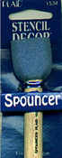 "1-1/4"" - Spouncer Sponge Stencil Brush"