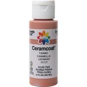 Tawny - Semi-Opaque - Ceramcoat Acrylic Paint 2oz