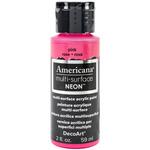 Pink - Americana Multi-Surface Neon Acrylic Paint 2oz
