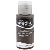 Burnt Umber (Series 1) - Media Fluid Acrylic Paint 1oz