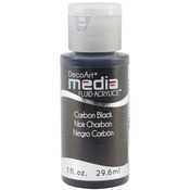 Carbon Black (Series 1) - Media Fluid Acrylic Paint 1oz