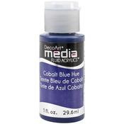 Cobalt Blue Hue (Series 1) - Media Fluid Acrylic Paint 1oz