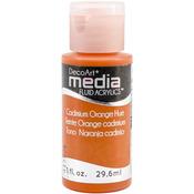 Cadmium Orange (Series 3) - Media Fluid Acrylic Paint 1oz