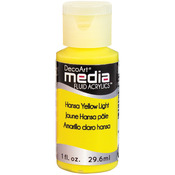 Hansa Yellow Light (Series 2) - Media Fluid Acrylic Paint 1oz