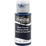 Phthalo Turquoise (Series 3) - Media Fluid Acrylic Paint 1oz
