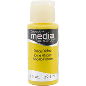 Primary Yellow (Series 1) - Media Fluid Acrylic Paint 1oz
