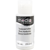 Translucent White (Series 1) - Media Fluid Acrylic Paint 1oz