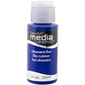 Ultramarine Blue (Series 3) - Media Fluid Acrylic Paint 1oz