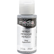 Silver (Series 2) - Media Fluid Acrylic Paint 1oz