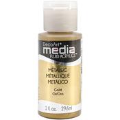 Gold (Series 2) - Media Fluid Acrylic Paint 1oz